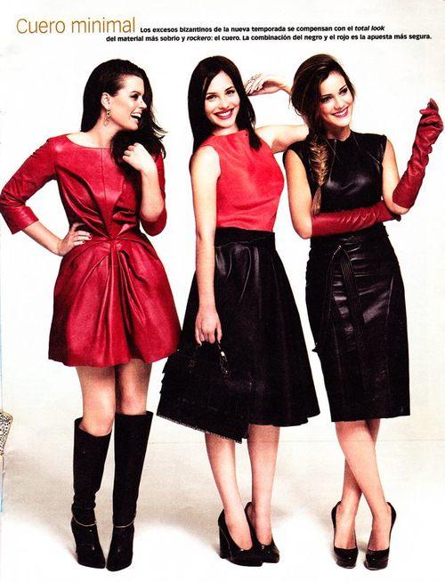 Adriana Torrebejano, Andrea Duro y Alejandra Onieva