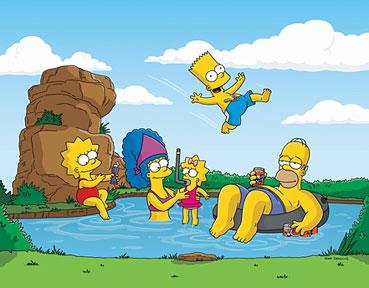 los mejores dibujos animados The simpsons!
