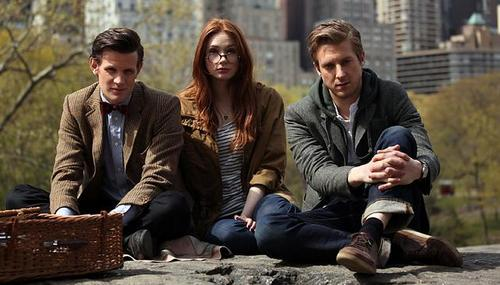 El Doctor, Amy y Rory en Central Park