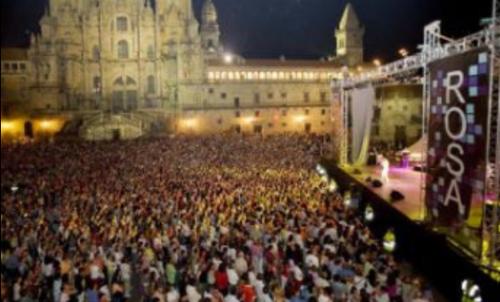 concierto de rosa en santiago de compostela fotos formulatv