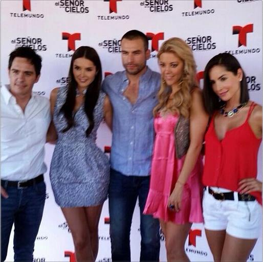 Marlene Favela, Rafael Amaya, Fernanda Castillo, Carmen ...