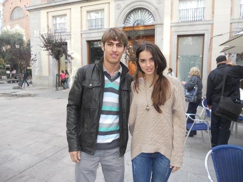 Con Ana de ARmas!!