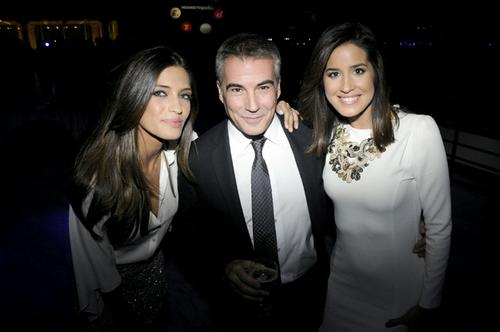 Sara Carbonero, David Cantero e Isabel Jiménez