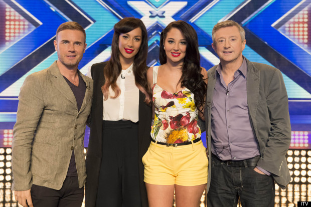 X Factor Judges 2012 Names The X Factor 20...