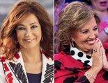 El reencuentro entre Ana Rosa y María Teresa Campos inaugura la celebración del 30 aniversario de Telecinco