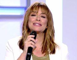 Toñi Moreno regresa a 'MYHYV' con cambio de imagen y anunciando nuevo proyecto televisivo