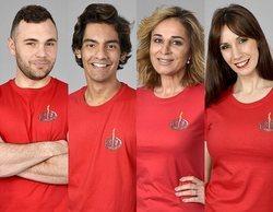 Cristian, Alejandro, Ana María y Fani, concursantes nominados en 'Supervivientes 2020'
