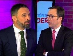 Santiago Abascal es vapuleado por un periodista catalán en una crítica entrevista de la televisión colombiana