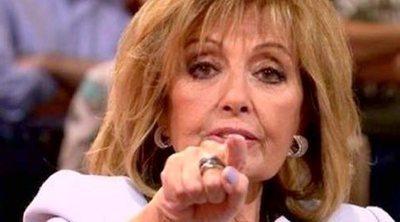 'Sálvame': La llamada que María Teresa Campos no sabía que estaba siendo emitida en directo