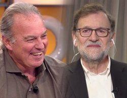"""Mariano Rajoy y Bertín Osborne recuerdan la mejor anécdota de su entrevista: """"Se le veía media pierna"""""""