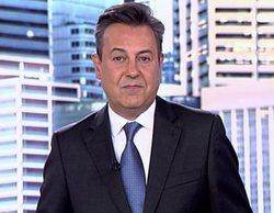 José Ribagorda se emociona en 'Informativos Telecinco' al hablar del coronavirus