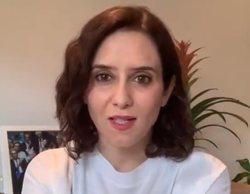 Isabel Díaz Ayuso, presidenta de la Comunidad de Madrid, da positivo en coronavirus