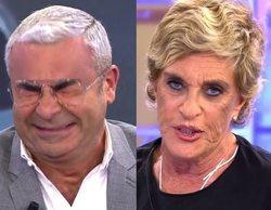 Jorge Javier Vázquez se burla a carcajadas del maquillaje de Chelo García-Cortés en 'Sálvame'