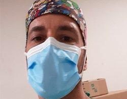 Israel Pita, de 'GH 1', reaparece como celador en una clínica lanzando un mensaje por el coronavirus