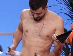 Joshua ('Maestros de la costura') cumple su palabra y se desnuda para celebrar que es finalista