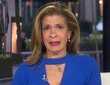 Hoda Kotb, presentadora de 'Today' (NBC), no puede reprimir las lágrimas al informar sobre el coronavirus