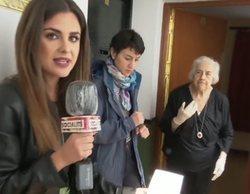 Críticas a 'Socialité' por incumplir medidas de prevención en un reportaje con una señora de 91 años