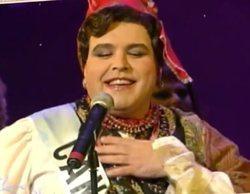 El pasado travesti de Lorenzo Caprile ('Maestros de la costura') como Miss Cantabria