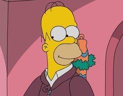 Una familia recrea la cabecera de 'Los Simpson' al detalle durante la cuarentena