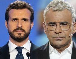 """La crítica de Jorge Javier Vázquez a Pablo Casado y el PP: """"Prefiero que me expulsen del Tinder de por vida"""""""
