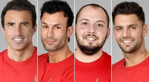Hugo Sierra, Jorge Pérez, José Antonio Avilés y Albert Barranco, concursantes nominados