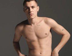 Arón Piper ('Élite') se desnuda en una nueva campaña publicitaria