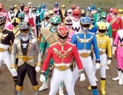 El reencuentro de varias generaciones de 'Power Rangers' durante el confinamiento