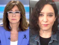 "Isabel Díaz Ayuso se defiende de la polémica de IFEMA en 'AR': ""Usan la foto como contrarréplica al 8M"""