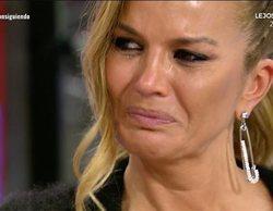 """Marta López estalla contra 'Sálvame' y rompe a llorar: """"No me voy porque necesito trabajar"""""""