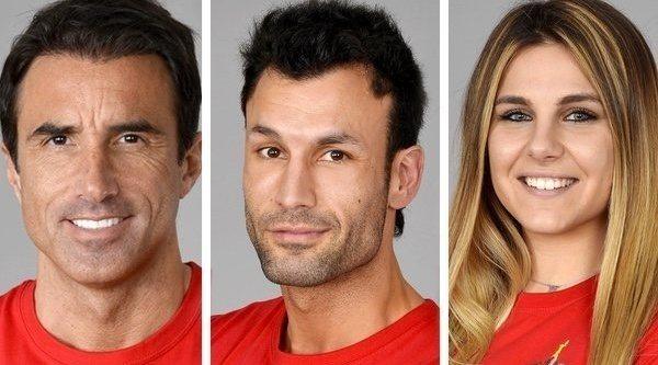 Hugo Sierra, Jorge e Ivana, concursantes nominados de la Gala 12