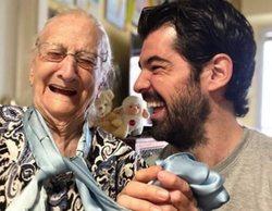 """El tierno motivo por el que Miguel Ángel Muñoz está pasando el confinamiento con su """"Tata"""" de 95 años"""