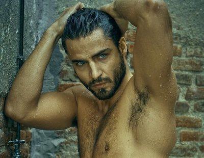 La explosiva sesión de fotos de Maxi Iglesias, totalmente desnudo, para Rísbel Magazine