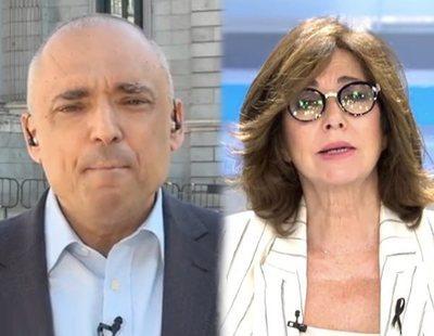 """La discusión entre Simancas y Ana Rosa Quintana: """"Ahora la culpa la tiene el PP"""""""