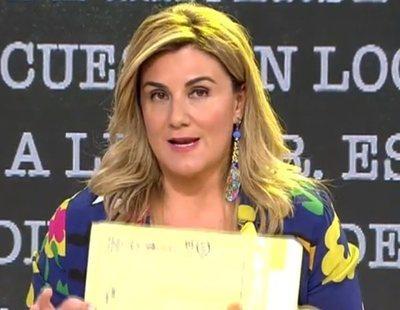 'Sálvame' reconoce haber engañado al público con un test falso