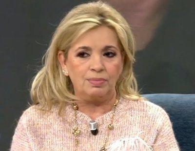 Carmen Borrego, enferma de COVID-19, se salta la cuarentena para ir a una clínica estética