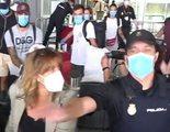 'Supervivientes 2020': La policía interviene en la atípica llegada de los concursantes a España