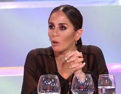 Anabel Pantoja muestra por descuido un pezón en 'La última cena' y se enfada cuando repiten las imágenes