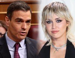 """Miley Cyrus pide apoyo a Pedro Sánchez y el presidente contesta: """"El nuestro es un compromiso fuerte"""""""