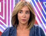 'Sábado deluxe': María Patiño pierde un diente en directo y Jorge Javier Vázquez lo muestra a cámara