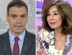 El zasca de Ana Rosa Quintana a Pedro Sánchez por los cambios de criterio del Gobierno