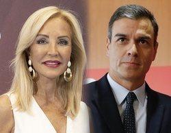 """Carmen Lomana sorprende con su alabanza a Pedro Sánchez: """"Ese debe ser el camino"""""""