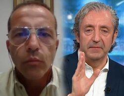 """Cristóbal Soria se enfada con Pedrerol y abandona 'El Chiringuito' en directo: """"Esto es una falta de respeto"""""""