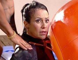 Maite Galdeano, a punto de ahogarse en la piscina de 'La casa fuerte'
