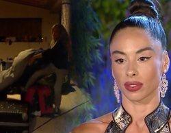 Oriana tira los objetos personales de Macarena al campo en 'La casa fuerte' y Rafa Mora estalla contra ella