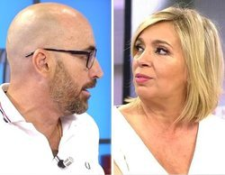 'Viva la vida': Diego Arrabal abandona Mediaset en coche tras un encontronazo con Carmen Borrego