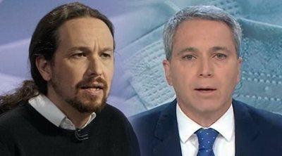 El zasca de Vicente Vallés a Pablo Iglesias y la respuesta de Isa Serra (Unidas Podemos)