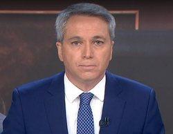 """Vicente Vallés recibe el apoyo de sus compañeros tras el """"sarpullido"""" de Pablo Echenique"""