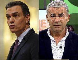 Jorge Javier Vázquez insinúa que Pedro Sánchez le envió un mensaje tras su bronca con Belén Esteban