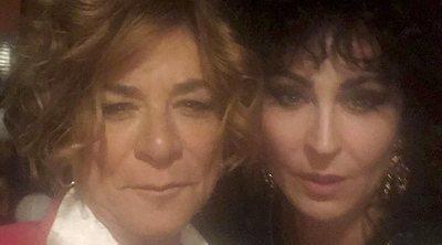 Ana Milán y Sonia Martínez ruedan su participación en 'Veneno'