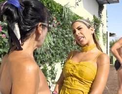 Piden la expulsión de Oriana de 'La casa fuerte' tras tirarse sobre Maite Galdeano en la piscina